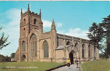 Postcard - Leominster - The Priory Church