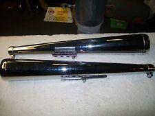 universal dunstall style muffler pair/norton/triumph/bsa/honda/yamaha/japanese