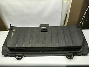 2009 SMART FORTWO COUPE REAR TRUNK TAILGATE LIFTGATE BACK COVER PANEL BLACK OEM+