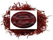 Persian Saffron 1 gram .03 oz Zaffron Azafran Finest Organic Threads Grade A