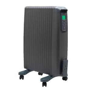 radiateur électrique à inertie sèche 2000w bluetooth - ewt