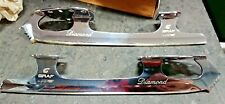 """New Graf Diamond Special Edge, Size 9 """"Michelle Kwan's Rink"""""""