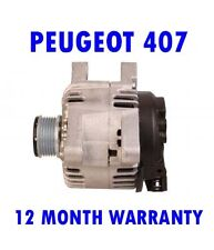 Peugeot 407 SW coupe 1.6 2.0 2004 2005 2006 2007 2009 - 2015 alternator