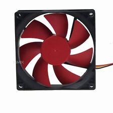 1pcs Big Airflow 90mm 25mm DC 12V 3Pin Quiet PC CPU Computer Cooler Cooling Fan