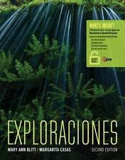 World Languages: Exploraciones by Mary Ann Blitt and Margarita Casas (2015, Pape