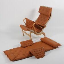 Pernilla Dux von Bruno Mathsson Leder Poslterung Sessel Chair Freischwinger 60er