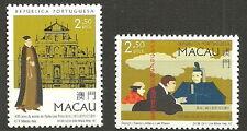 Macau - 400. Todestag von Luís Fróis Satz postfrisch 1997 Mi. 917-918