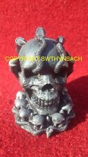 NEW DESIGN RUBBER LATEX MOULD MOLD TO MAKE SMALL DETAILED GOTHIC SKULL AND CLAWS