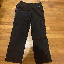 Nike Black Medium EUC Mens Windpants With Pockets