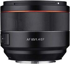 Samyang 85mm F1.4EF Lens for Canon EF Mount 77mm Filter Thread DSLR Camera