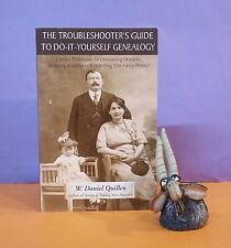 W Daniel Quillen: The Troubleshooter's Guide To Do-It-Yourself Genealogy/USA