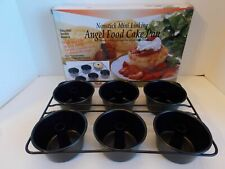 NORPRO Professional  Linking Mini AngelL Food Cake Pan # 3975 NEW!