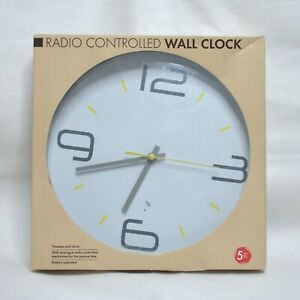 RADIO CONTROLLED Wall Clock Wireless Time Signals