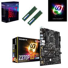 Bundle Intel Core i7 8700K 6x@4,70GHz+Gigabyte Z370P D3 USB3.1-16GB RAM