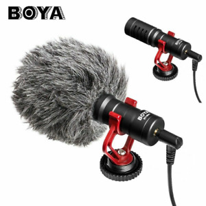 BOYA BY-MM1 Cardioid Shotgun Microphone MIC for DSLR Camera Smartphone Camcorder