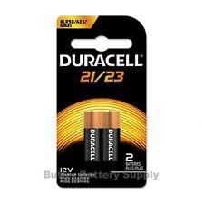 2 x 21/23 Duracell 12V Alkaline Batteries (8LR50, A23, MN21, Security)
