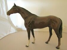 Beswick LARGE RACEHORSE ( Brown Gloss) issued 1959-82 Model 1564  Perfect