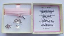 1st Birthday Gift Guardian Angel Personalised keepsake present girl MEMORY BOX