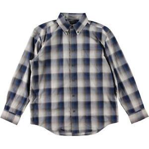 Filson Sutter Button-Up L/S Sport Shirt- Blue Heather Grey - Choose Size - NEW!