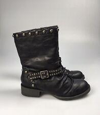 Blowfish Malibu Black Studded Ankle Boots Size UK 3  EU 36