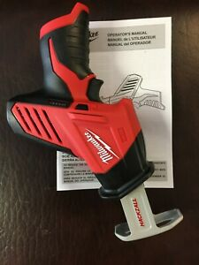 NEW Milwaukee M12 HACKZALL Reciprocating Saw 2420-20 With QUIK-LOK