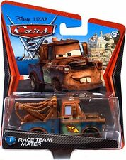 Disney Pixar Cars 2 Race Team Mater Diecast Xmas Present Gift NEW