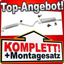 Auspuff PEUGEOT 307 CC 2.0 136PS Cabriolet 2003-2005 +gummi Auspuffanlage 977
