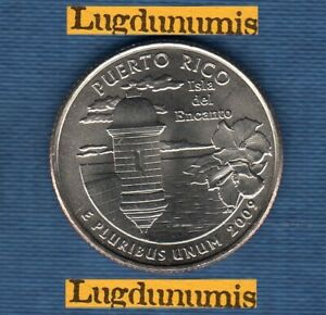 Etats Unis Quarter Dollar 2009 D Puerto Rico série des Etats SUP SPL