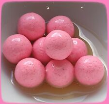 16mm WASHED OUT PINK POP-UPS BOILIES. UNFLAVOURED OR FLAVOURED & GLUG