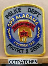OPP, ALABAMA POLICE SHOULDER PATCH AL