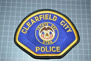 Clearfield City Utah Police Patch (B17-A21)