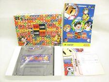 SAME GAME MINT Condition Super Famicom Nintendo Japan Game sf