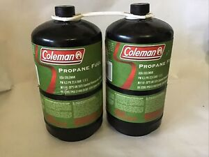 Coleman Propane Fuel - Twin Pack - 465g Non Refillable Gas Cylinder - Pack of 2