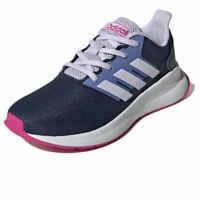 Adidas Runfalcon k Scarpe da corsa Donna tg 38 2/3 in Nylon Blu