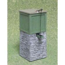 dolgoch style réservoir d'eau 'OO9' - Jauge d'Oo résine modele – Unit oo-071 -