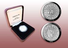 5 EURO Latvia 2015 500 years of Livonian ferding (Vērdiņam 500), silver 92.5%