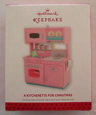 Hallmark 2013 A Kitchenette for Christmas Play Kitchen Baking Baker Ornament