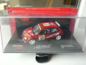 Citroen saxo kit car S Loeb Rallye Monte Carlo 2001 1/43
