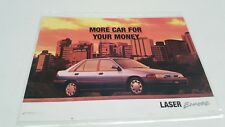 1995 FORD LASER ENCORE  Sales Leaflet from NEW ZEALAND - RARE