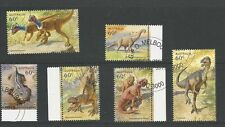 1 set 2013 Australia's Age of Dinosaurs set of 6  CTO (146)