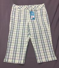 Nivo Women's Golf Shorts (4, Green, Plaids & Checks)(NWT) MSRP $100