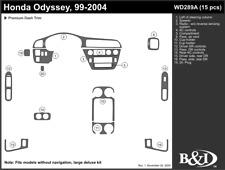 HONDA ODYSSEY 99 2000 2001 2002 2003 2004 DASH TRIM a