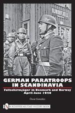 Book - German Paratroops in Scandinavia: Fallschirmjäger in Denmark and Norway