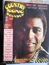 CHARLEY PRIDE JOHNNY CASH KITTY WELLS 9/1974 COUNTRY SONG ROUNDUP MUSIC MAGAZINE