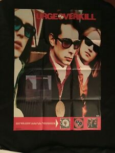 1990 URGE OVERKILL American Alternative Rock Band Touch and Go Records Poster