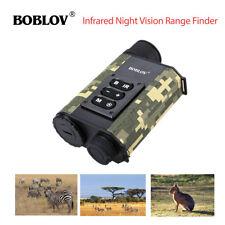 Boblov 500M Ranging Finder IR Night Vision Monocular Rangefinder Day and Night