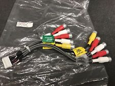 Pioneer Avh-P6400cd New Pre Out Rca Sub Harness Lead Wiring Cde-7045