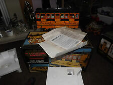 HORNBY STEPHENSON ROCKET COACH G104 LIVE STEAM ENGINE LOCO MINT USED ONCE