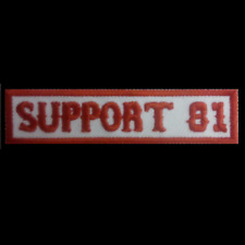 Support Hells Angels Patch  SUPPORT 81  Original 81 Support Aufnäher