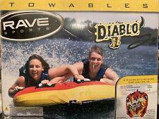 New listing Rave Sports Diablo Ii 2-Rider Towable